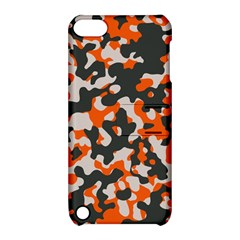 Camouflage Texture Patterns Apple Ipod Touch 5 Hardshell Case With Stand by Simbadda