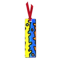 Digitally Created Abstract Squiggle Stripes Small Book Marks