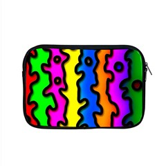 Digitally Created Abstract Squiggle Stripes Apple Macbook Pro 15  Zipper Case