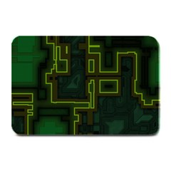 A Completely Seamless Background Design Circuit Board Plate Mats by Simbadda