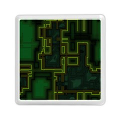 A Completely Seamless Background Design Circuit Board Memory Card Reader (square)  by Simbadda