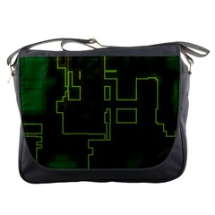A Completely Seamless Background Design Circuit Board Messenger Bags by Simbadda