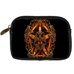 3d Fractal Jewel Gold Images Digital Camera Cases by Simbadda