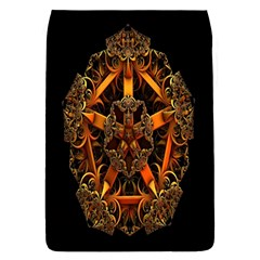 3d Fractal Jewel Gold Images Flap Covers (l)  by Simbadda