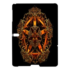 3d Fractal Jewel Gold Images Samsung Galaxy Tab S (10 5 ) Hardshell Case  by Simbadda