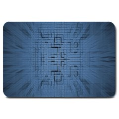 Zoom Digital Background Large Doormat