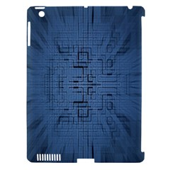 Zoom Digital Background Apple Ipad 3/4 Hardshell Case (compatible With Smart Cover) by Simbadda