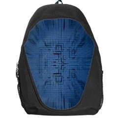 Zoom Digital Background Backpack Bag by Simbadda