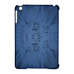 Zoom Digital Background Apple Ipad Mini Hardshell Case (compatible With Smart Cover) by Simbadda