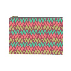 Abstract Seamless Abstract Background Pattern Cosmetic Bag (large)  by Simbadda
