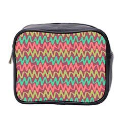 Abstract Seamless Abstract Background Pattern Mini Toiletries Bag 2 Side by Simbadda