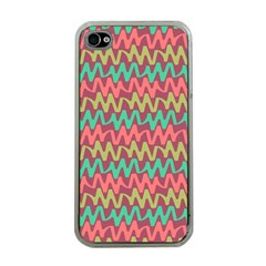 Abstract Seamless Abstract Background Pattern Apple Iphone 4 Case (clear) by Simbadda