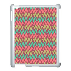 Abstract Seamless Abstract Background Pattern Apple Ipad 3/4 Case (white)