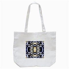 Colorful Seamless Pattern Vibrant Pattern Tote Bag (white) by Simbadda