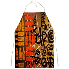 Graffiti Bottle Art Full Print Aprons