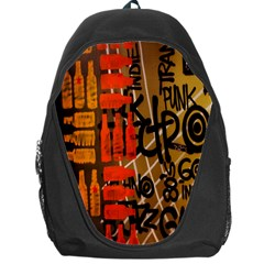 Graffiti Bottle Art Backpack Bag by Simbadda