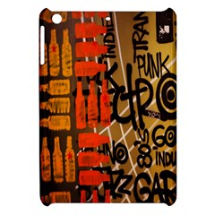 Graffiti Bottle Art Apple Ipad Mini Hardshell Case by Simbadda