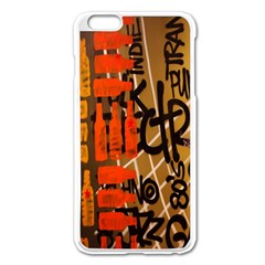 Graffiti Bottle Art Apple Iphone 6 Plus/6s Plus Enamel White Case by Simbadda