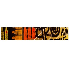 Graffiti Bottle Art Flano Scarf (large) by Simbadda