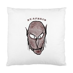 Scary Vampire Drawing Standard Cushion Case (two Sides) by dflcprints