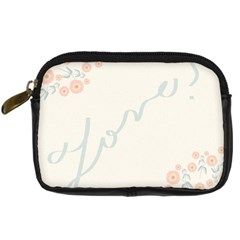 Love Card Flowers Digital Camera Cases by Simbadda