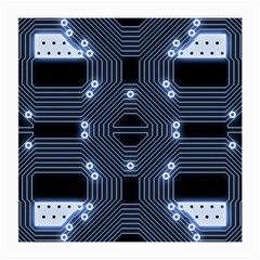 A Completely Seamless Tile Able Techy Circuit Background Medium Glasses Cloth by Simbadda