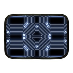 A Completely Seamless Tile Able Techy Circuit Background Netbook Case (medium)  by Simbadda