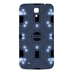 A Completely Seamless Tile Able Techy Circuit Background Samsung Galaxy Mega I9200 Hardshell Back Case