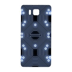 A Completely Seamless Tile Able Techy Circuit Background Samsung Galaxy Alpha Hardshell Back Case by Simbadda