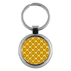 Snake Abstract Background Pattern Key Chains (round)  by Simbadda