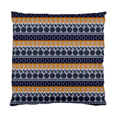 Seamless Abstract Elegant Background Pattern Standard Cushion Case (two Sides)