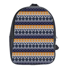 Seamless Abstract Elegant Background Pattern School Bags (xl)  by Simbadda
