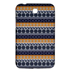 Seamless Abstract Elegant Background Pattern Samsung Galaxy Tab 3 (7 ) P3200 Hardshell Case