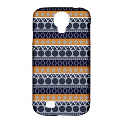 Seamless Abstract Elegant Background Pattern Samsung Galaxy S4 Classic Hardshell Case (pc+silicone)