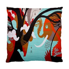 Colorful Graffiti In Amsterdam Standard Cushion Case (one Side) by Simbadda
