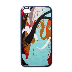 Colorful Graffiti In Amsterdam Apple Iphone 4 Case (black) by Simbadda