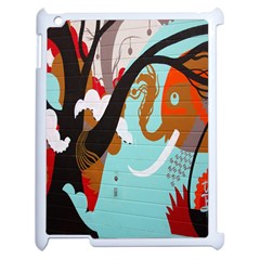 Colorful Graffiti In Amsterdam Apple Ipad 2 Case (white) by Simbadda
