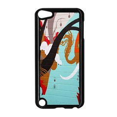 Colorful Graffiti In Amsterdam Apple Ipod Touch 5 Case (black) by Simbadda