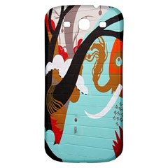 Colorful Graffiti In Amsterdam Samsung Galaxy S3 S Iii Classic Hardshell Back Case
