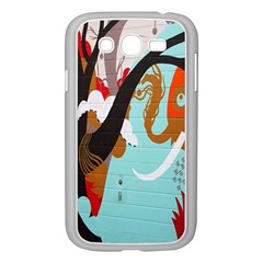 Colorful Graffiti In Amsterdam Samsung Galaxy Grand Duos I9082 Case (white) by Simbadda