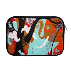 Colorful Graffiti In Amsterdam Apple Macbook Pro 17  Zipper Case by Simbadda
