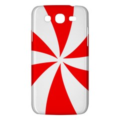 Candy Red White Peppermint Pinwheel Red White Samsung Galaxy Mega 5 8 I9152 Hardshell Case  by Alisyart