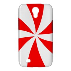 Candy Red White Peppermint Pinwheel Red White Samsung Galaxy Mega 6 3  I9200 Hardshell Case by Alisyart