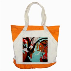 Colorful Graffiti In Amsterdam Accent Tote Bag by Simbadda