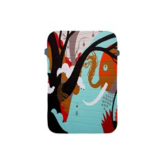 Colorful Graffiti In Amsterdam Apple Ipad Mini Protective Soft Cases by Simbadda
