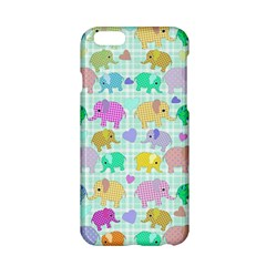 Cute Elephants  Apple Iphone 6/6s Hardshell Case by Valentinaart