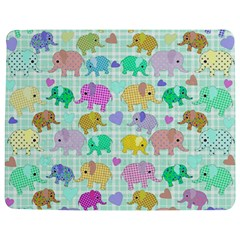 Cute Elephants  Jigsaw Puzzle Photo Stand (rectangular)