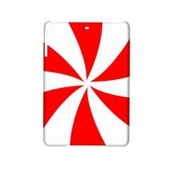 Candy Red White Peppermint Pinwheel Red White Ipad Mini 2 Hardshell Cases by Alisyart