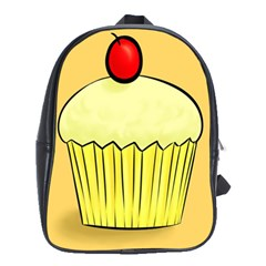 Cake Bread Pie Cerry School Bags(large)