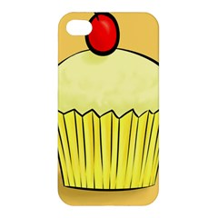Cake Bread Pie Cerry Apple Iphone 4/4s Hardshell Case by Alisyart